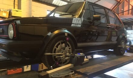 vw golf wheel alignment